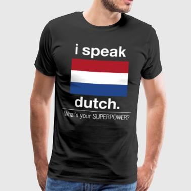 Dutch Superpower - Men's Premium T-Shirt
