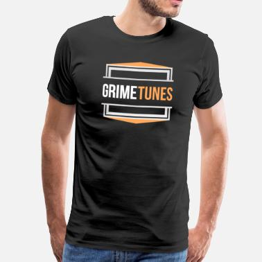 Grime Tunes T-Shirt Design  - Men's Premium T-Shirt