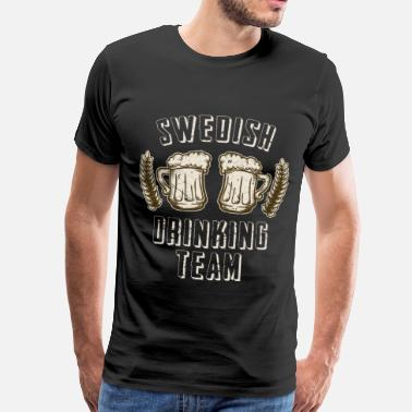 Swedish Viking Sweden party - Men's Premium T-Shirt