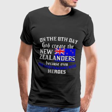 Nation Australia New Zealand - Men's Premium T-Shirt