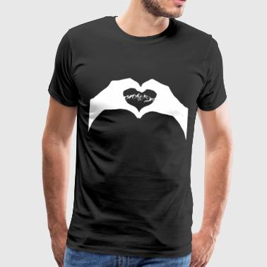 Love Mountains Hiking Climbing Alpin Ski Climbing - Men's Premium T-Shirt