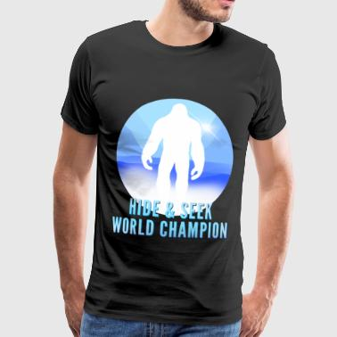 Hide Play Champignon Bigfoot & Yeti - Mannen Premium T-shirt