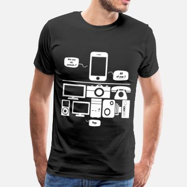 Humour Informatique Are you my parents ? - T-shirt Premium Homme