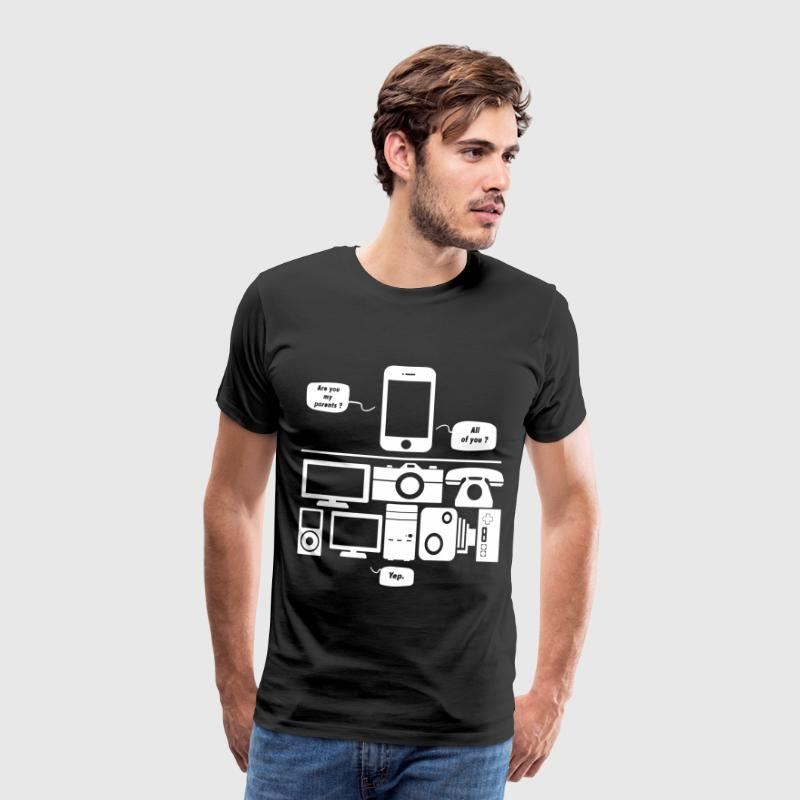 Are you my parents ? - T-shirt Premium Homme