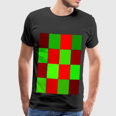 rectangles - Men's Premium T-Shirt