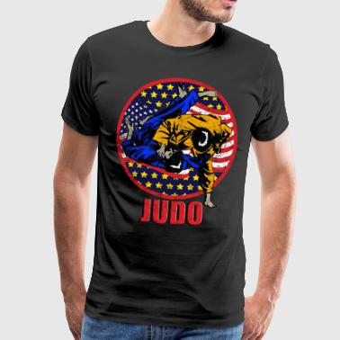 Self-defense judo - Men's Premium T-Shirt