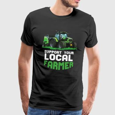 Support Your Local Farmers - Men's Premium T-Shirt