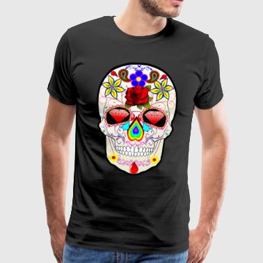 The Rock Skull - Premium T-skjorte for menn