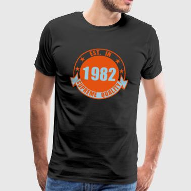 1982 Supreme - Men's Premium T-Shirt