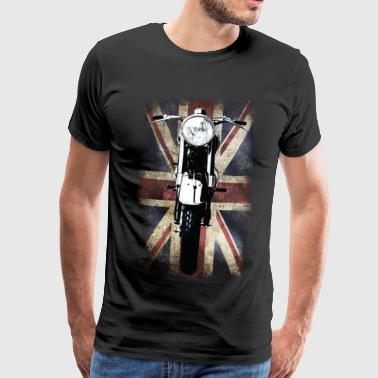 Vintage Motor Cycle BSA feature patjila - Men's Premium T-Shirt