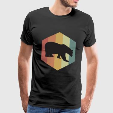 Ours brun Ours polaire Ours polaire Ursus - T-shirt Premium Homme