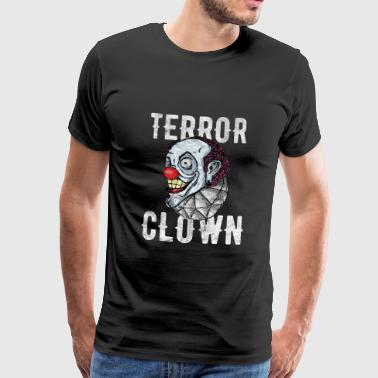 Horror Halloween - Terror Clown - Mannen Premium T-shirt