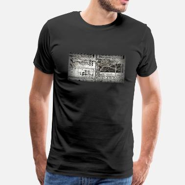 Synthesizer Vintage analogue synth - Men's Premium T-Shirt