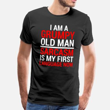 Retirement Funny Grumpy Old Man Sarcasm T-Shirt - Men's Premium T-Shirt