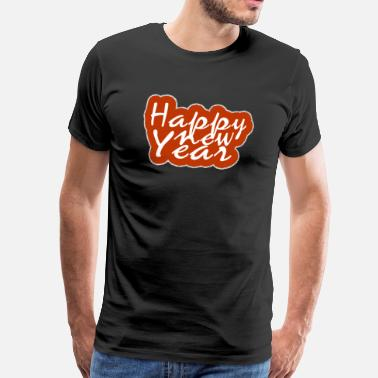 Confetti New Year and New Year's Eve - Men's Premium T-Shirt