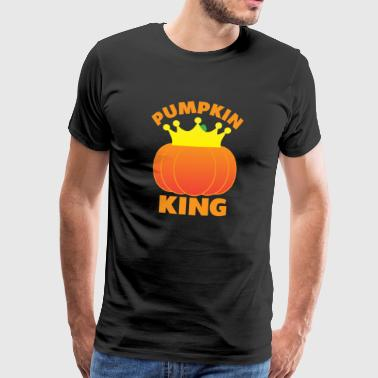 Halloween - Pumpkin King - Men's Premium T-Shirt
