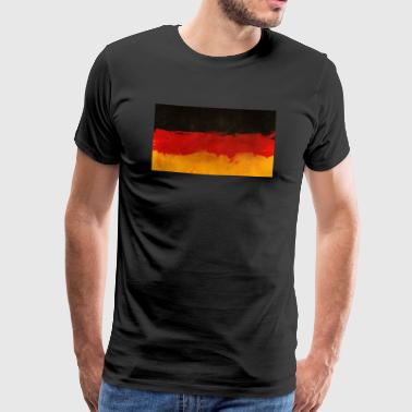 Germany flag pride - Men's Premium T-Shirt