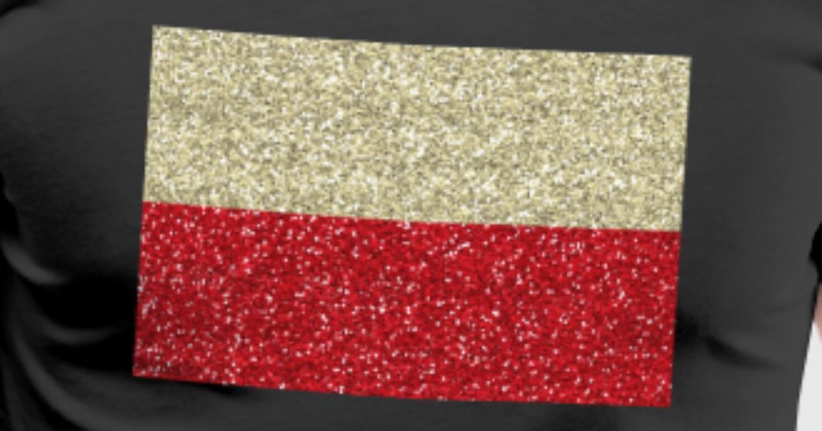 Polen Flagge Fahne polnisch Glitzer Polska Heimat von nxt level ...