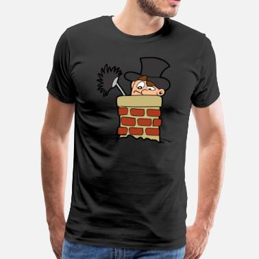 Chimney Sweep chimney sweeper - Men's Premium T-Shirt
