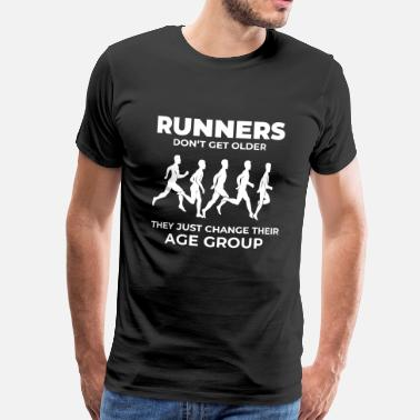 26.2 Marathon Runners - Men's Premium T-Shirt