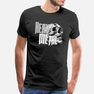 Metal Heavy metal - T-shirt Premium Homme