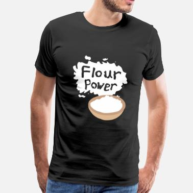 Flour Flour Power - Men's Premium T-Shirt