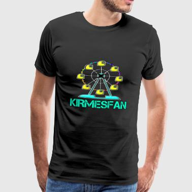 Kirmesfan fairground fun fair FAN Ferris wheel - Men's Premium T-Shirt