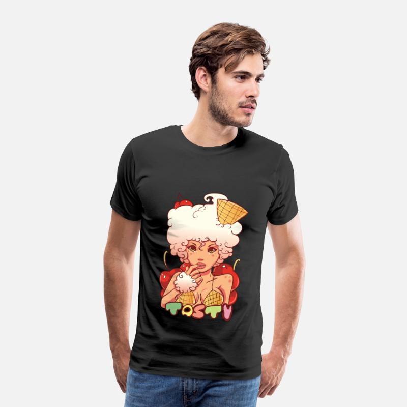 Collections T-Shirts - Ice Cream - Men's Premium T-Shirt black