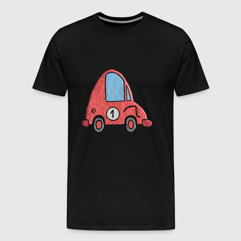 Enillo racecar pink number 1 - Men's Premium T-Shirt