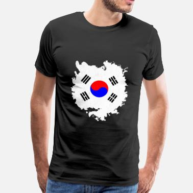 South Korea South Korea - Herre premium T-shirt