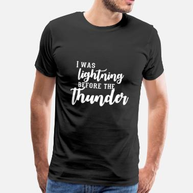 Imagine Dragons I Was Lightning Before The Thunder - Mannen Premium T-shirt