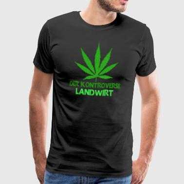 The controversial farmer cannabis cultivation - Men's Premium T-Shirt