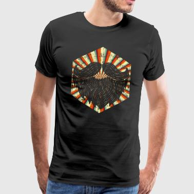 Bart Pop-Art - Männer Premium T-Shirt