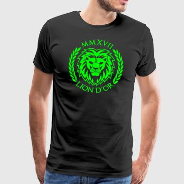 LION D'OR Logo - T-shirt Premium Homme