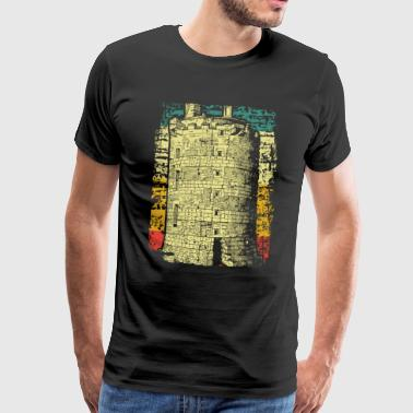 Medieval Times Medieval castle tower - Men's Premium T-Shirt