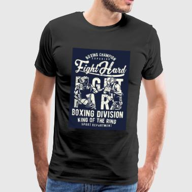 Fight Hard - Männer Premium T-Shirt
