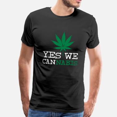 Yes We Cannabis Yes We Cannabis - Mannen premium T-shirt