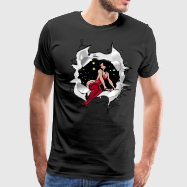 sexy girl - T-shirt Premium Homme