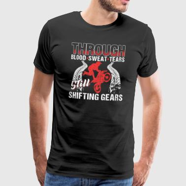 Motocross Shifting Gears - Men's Premium T-Shirt
