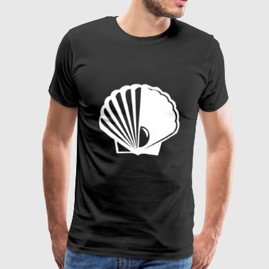 Coquillages coquillages - T-shirt Premium Homme