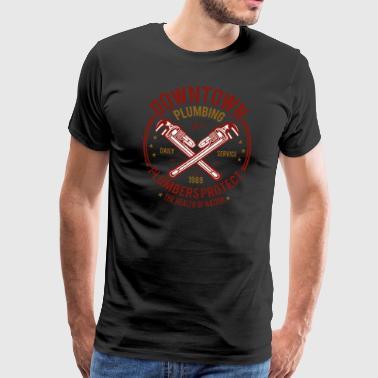 suchbegriff 39 handwerker klempner 39 t shirts online bestellen spreadshirt. Black Bedroom Furniture Sets. Home Design Ideas