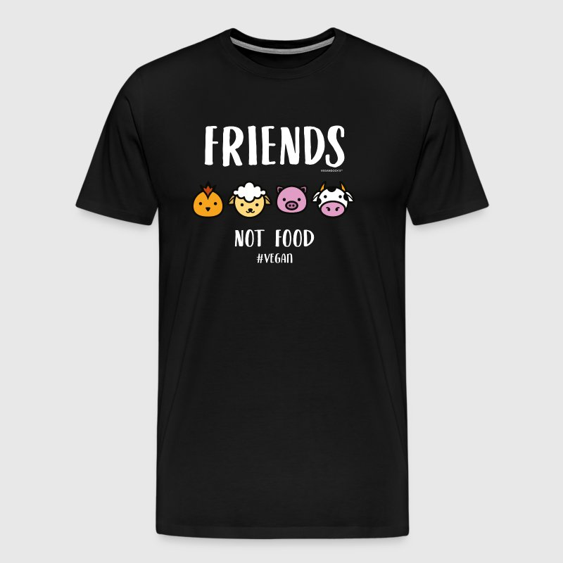 Friends Not Food #VEGAN - Men's Premium T-Shirt