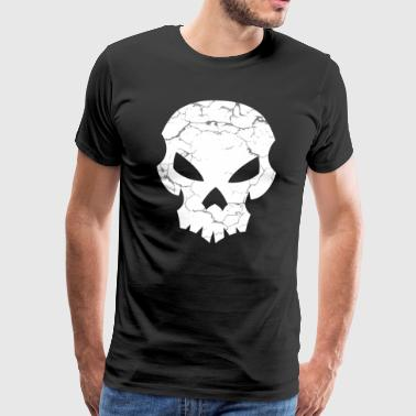 Dead Head Skull - Men's Premium T-Shirt