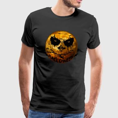 Scream Halloween Moon - gelimiteerde editie - Mannen Premium T-shirt