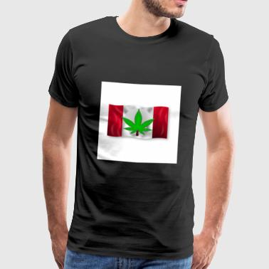 Legalization in Canada - Marijuana - Men's Premium T-Shirt