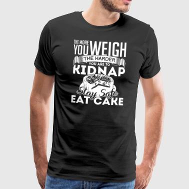 StaySafe Eat Cake - Men's Premium T-Shirt