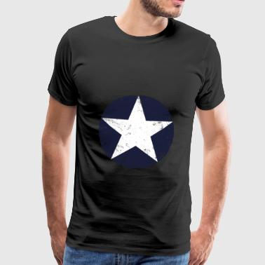 us air force star vintage - T-shirt Premium Homme