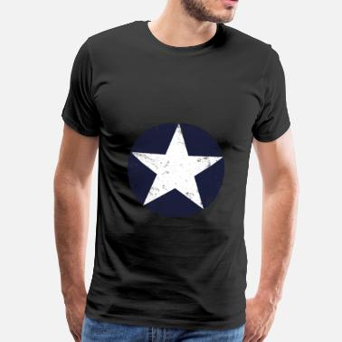 Us us air force star vintage - T-shirt Premium Homme