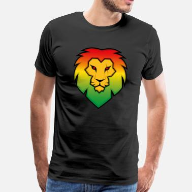 Raggae Ragga Lion - Men's Premium T-Shirt
