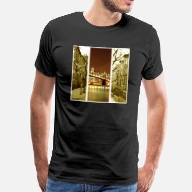 Montage Photo Brooklyn.jpg Tee shirts - T-shirt Premium Homme